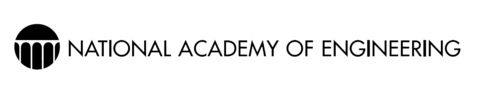 National Academy of Engineering logo (black text)