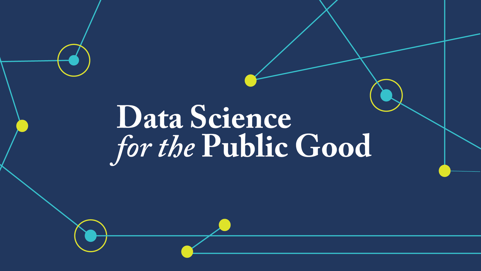 Data Science for the Public Good logo
