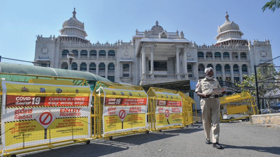 India has been in lockdown because of the coronavirus pandemic since 25 March.
